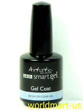 Artistic Nail Design Smart Builder Gel System : #02011- Gel Clear Coat 0.5oz