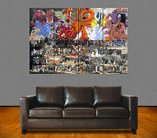 NARUTO SHIPPUDEN. N°26. MANGA. ALL CHARACTERS. GIANT ART POSTER A0.