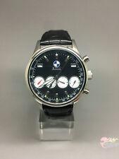 Montres Automatique Mécanique en Cuir Sports pr BMW 4 Chronograph X5 X6 M Noir
