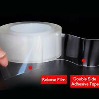 Doppelseitig Klebeband Selbstklebend Spurloses Nano Klebeband Waschbar Sticker