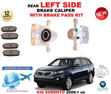 FOR KIA SORENTO Mk II XM 2009-> NEW REAR LEFT BRAKE CALIPER WITH BRAKE PADS SET