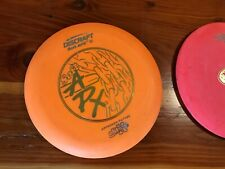 Set of 3 Discraft disc golf discs - driver, straight wasp, approach putter