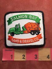 Vtg SALMON BAY SAND & GRAVEL Concrete Truck Cement Mixer Advertising Patch 85N2