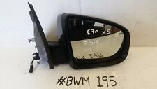 BMW X5 LCI DRIVER SIDE WING MIRROR AUTO FOLDING, DIMMING HEATED & CAMERA 7136887