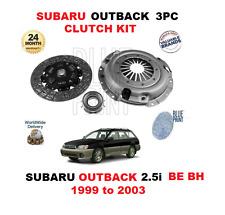 POUR SUBARU OUTBACK 2.5i BREAK AWD BE BH EJ251 1999-2003 KIT EMBRAYAGE 3 PIÈCES