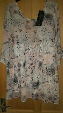 INFLUENCE FLORAL TOP SIZE 12 NEW WITH TAGS