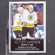 CAM NEELY  2015/16  SP  All-Time Moments  #141  Boston Bruins  HOF
