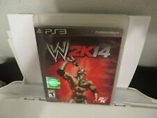 WWE 2K14 (Sony PlayStation 3, PS3, 2013)