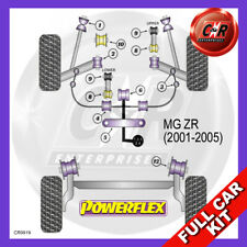MG ZR Petrol IB5 Gearbox (01-05) Front Roll Bar 19mm Powerflex Complete Bush Kit
