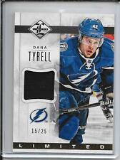 12-13 Limited Dana Tyrell Prime Jersey #d/25