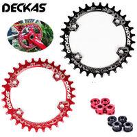 DECKAS 104bcd 32-38t Chainring Narrow Wide MTB Bike Chainwheel fit 8 to 12S