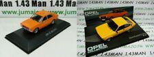 LOT 2 Voiture 1/43: Opel K 180 (1974) Kadett C GT/E 1977/1979 - ARG24+OPE46
