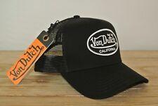 Von Dutch USA California Black Trucker Cap Mesh Basecap Truckercap schwarz van