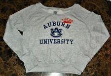 """NEW"" Auburn Tigers ~ FLEECE Crop Top SWEAT SHIRT ~ NCAA Women's Sz S 3 / 5"