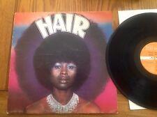 HAIR MUSICAL / SOUNDRACK ALBUM / RECORD / LP / VINYL / 33rpm 1976