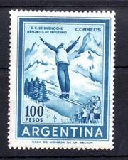 Argentina 1961 100p Ski Jumper mint LHM SG1025 WS8411
