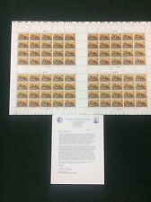 Rw72 $15 Federal Duck Stamp. Uncut Press Sheet Of 80. Scarce. Only 40 Exist. MNH