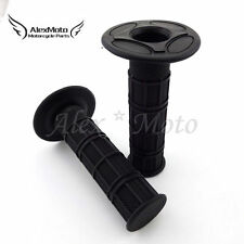 "Universal 7/8"" Handlebar Throttle Handle Grips For MX Pit Dirt Motor Trail Bike"