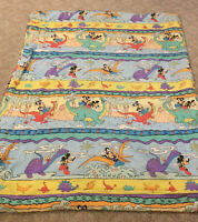Vintage Disney Mickey Mouse Comforter Twin Dinosaur Prehistoric Minnie Disney