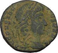 CONSTANTIUS II Constantine the Great son Ancient   Roman Coin Standard  i45819