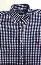 Polo Ralph Lauren karierte Langarm Herren-Freizeithemden & -Shirts