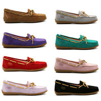 Australia Women Suede Loafer Lace Summer Casual Moccasins Flat Slip On Shoes