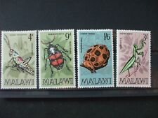 MALAWI  - 1970 Insects Full Set of 4vs MH Cat 0.85 (2E12)