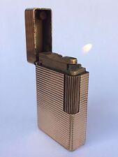 VINTAGE S.T. DUPONT FRANCE PARIS GOLD PLATED LIGHTER Cigarette Cigar Line 1
