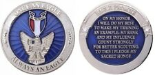 EAGLE SCOUT CHALLENGE COIN Once an Eagle Always an Eagle Boy Scout With Case