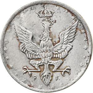 [#917298] Coin, Poland, 10 Fenigow, 1917, Stuttgart, Germany, AU(55-58), Iron