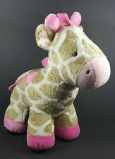 Carter's Giraffe Tan Pink Plush