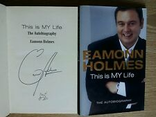 EAMONN HOLMES SIGNED THIS IS MY LIFE 1/1 UK HB/DJ 2006 BRAND NEW UNREAD COPY