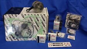 KTM 125 SX 2007-2015 WISECO REBUILD Top & Bottom End Engine Kit Crank Piston Gsk
