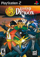 Legend of the Dragon (Sony PlayStation 2, 2007) - PS2