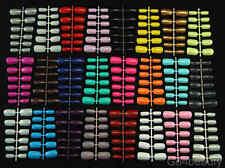 24 Colours 576pcs Mega Mixed Colours of European Short Whole Nails - Aus Stock
