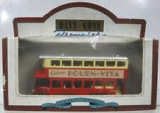 Red Double Decker Bus~Llode Days Gone~1931 AEC Renown Bourn-Vita NIB
