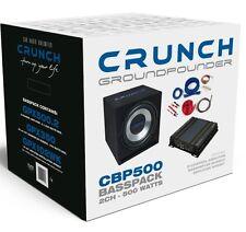 CRUNCH GROUNDPOUNDER Bass Paket Basskiste & Verstärker & Kabel *UVP 249,00€