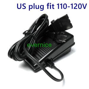 110V Foot Control Pedal for Brother LS2725,LS2820,LS2825,LS2920,LS3125,LX2500