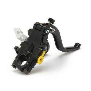 Clankmoto 7//8 Bar Universal Aluminum Alloy Motorcycle Handle Clutch Perch Lever Black