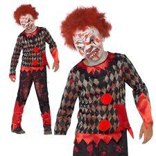 Smiffys Déguisement enfant Clown Zombie avec Masque en Latex Haut & Pantalon