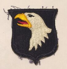 WW2 ORIGINAL US ARMY, 101ST AIRBORNE DIVISION PATCH. SCREAMING EAGLES