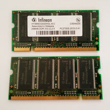Infineon 256MB DDR RAM SO-DIMM PC2700 333MHz CL2.5 (HYS64D32020HDL-6-C)