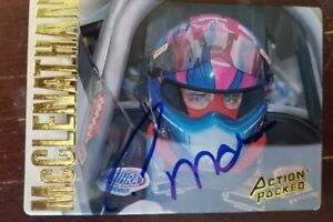 1994 NHRA Action Packed Autograph Cory McClenathan