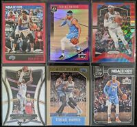Lot of (6) Tobias Harris, Including Hoops red /299, Optic/Prizm parallels & more