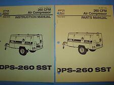 MQ Power 260 CFM  Air Compressor DPS-260SST  Instruction Manual & Parts Manuals