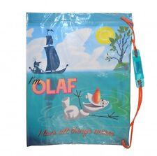 Boys Disney Frozen Olaf PVC School Swimming Swim Bag