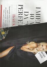 SP45 Clipping-Ritaglio 2013 Heidi Klum I miei primi 40 anni da Miss Perfettina