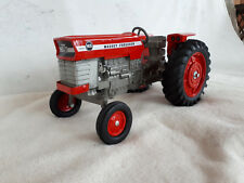 ERTL 1/16 SCALE DIECAST MASSEY FERGUSON 165 FARM TOY TRACTOR METAL RIMS RARE!!