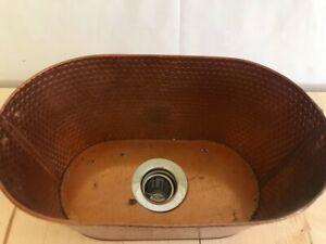 Vessel Sink,  Aged Copper Tub, Garden, Bathroom, Kitchen, Hammered Finish