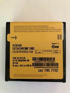 Kodak Ektachrome 16mm 100ft (33m) Color Reversal Film 100D 7294